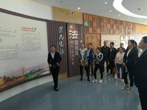 高淳区科技局组织参观区法治宣传教育中心